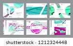 abstract background cover... | Shutterstock .eps vector #1212324448