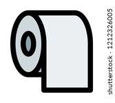 toilet tissue paper | Shutterstock .eps vector #1212326005