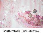 balloons. children party... | Shutterstock . vector #1212335962