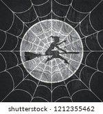 cobweb background. spiderweb... | Shutterstock . vector #1212355462