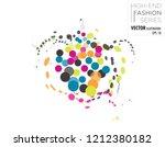 vector illustration of a female ...   Shutterstock .eps vector #1212380182