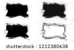 set of brush stroke and... | Shutterstock . vector #1212380638