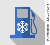 winter diesel fuel petrol... | Shutterstock .eps vector #1212394345