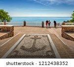 nerja  costa del sol  andalusia ... | Shutterstock . vector #1212438352