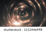 abstract pink bokeh circles on... | Shutterstock . vector #1212446998