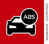 auto abs icon  logo vector...