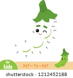 numbers game  education dot to... | Shutterstock .eps vector #1212452188