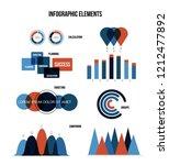 business data visualisation... | Shutterstock .eps vector #1212477892