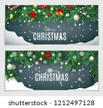abstract beauty christmas and...   Shutterstock .eps vector #1212497128