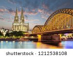 cologne dom cathedral  germany  | Shutterstock . vector #1212538108