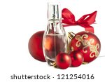 photo of gifts on a white... | Shutterstock . vector #121254016