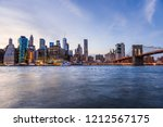 outdooors view on nyc new york... | Shutterstock . vector #1212567175