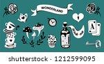 Wonderland Vector Set