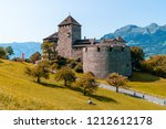 beautiful architecture at vaduz ... | Shutterstock . vector #1212612178