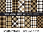 brown  tan  black and white... | Shutterstock .eps vector #1212614245