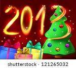 postcard. background.... | Shutterstock .eps vector #121265032