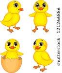 Funny Chick Cartoon
