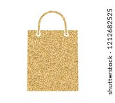 icon of shopping bag with...   Shutterstock . vector #1212682525