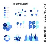 infographic elements  data... | Shutterstock .eps vector #1212757945