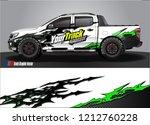 truck wrap design vector.... | Shutterstock .eps vector #1212760228