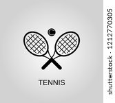 tennis icon. tennis symbol.... | Shutterstock .eps vector #1212770305