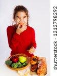 fruit or buns | Shutterstock . vector #1212798292