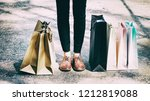 the abstract art design... | Shutterstock . vector #1212819088