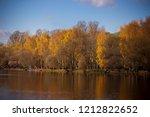 enchanting autumn light in a... | Shutterstock . vector #1212822652