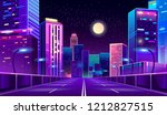 vector concept background with... | Shutterstock .eps vector #1212827515