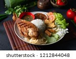 traditional malay indonesian... | Shutterstock . vector #1212844048