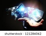 modern wireless technology... | Shutterstock . vector #121286062