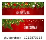abstract beauty christmas and... | Shutterstock .eps vector #1212873115