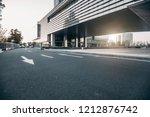 the square platform of urban...   Shutterstock . vector #1212876742