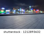 blank floor and hongkong urban... | Shutterstock . vector #1212893632