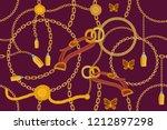 asymetric golden print. ... | Shutterstock .eps vector #1212897298