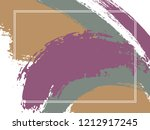 horizontal border with paint... | Shutterstock .eps vector #1212917245