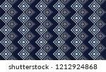 ikat geometric folklore...   Shutterstock .eps vector #1212924868