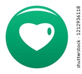 three dimensional heart icon.... | Shutterstock .eps vector #1212936118