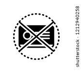 vector icon for expired  | Shutterstock .eps vector #1212940258