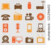 device icons set.vector | Shutterstock .eps vector #121296652