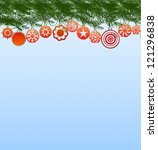 merry christmas | Shutterstock . vector #121296838