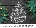 have yourself a merry little... | Shutterstock . vector #1212973558
