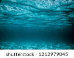 Wave Under Water On The Island...