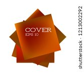 set of abstract modern graphic... | Shutterstock .eps vector #1213002292
