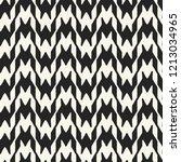 monochrome houndstooth motif.... | Shutterstock .eps vector #1213034965