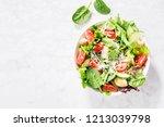 Tasty Appetizing Fresh Salad...