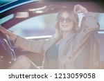 photo of young blonde woman... | Shutterstock . vector #1213059058