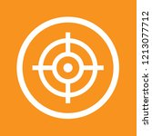 target  goal  success icon ... | Shutterstock .eps vector #1213077712