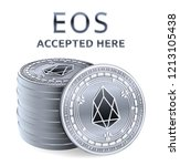 eos. accepted sign emblem.... | Shutterstock .eps vector #1213105438