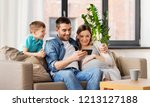 family  pregnancy and... | Shutterstock . vector #1213127188